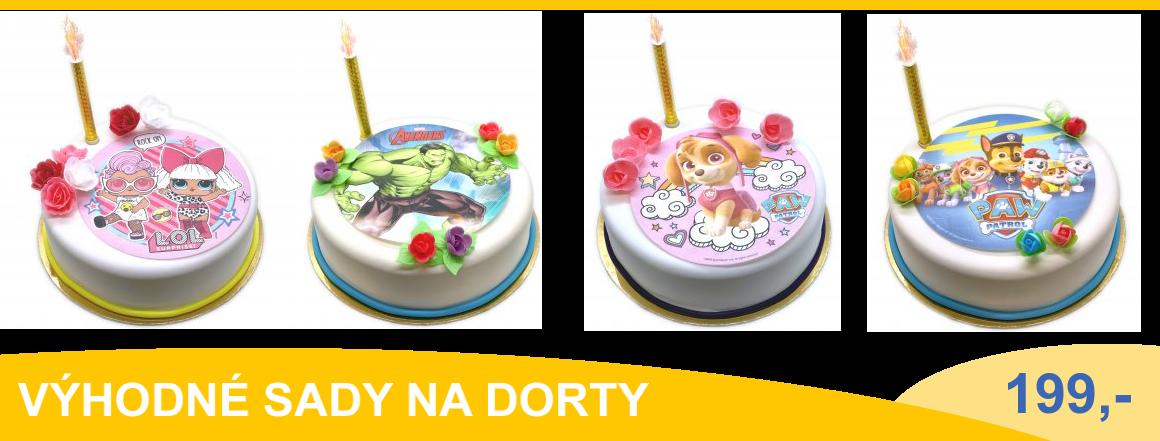 Zdobení na dorty