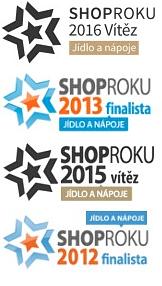 Shop Roku Ocenění