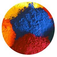Práškové barvy