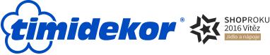 Timidekor - cukrářské potřeby logo firmy