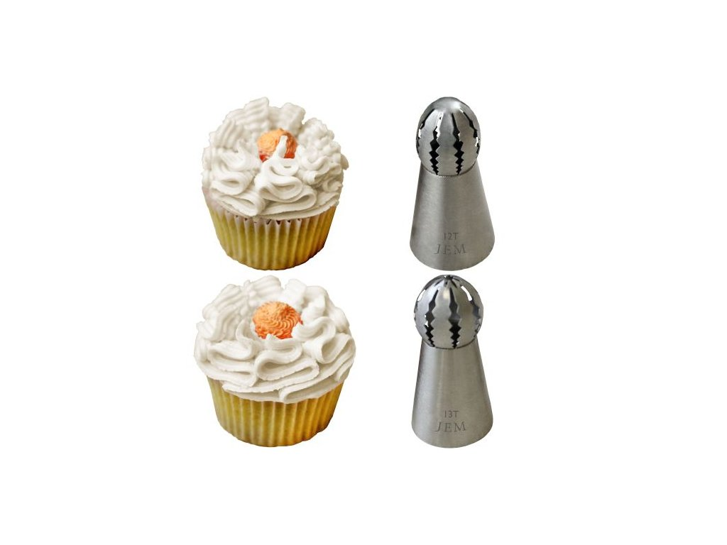 Špičky na cupcakes JEM 2 ks - typ 12+13