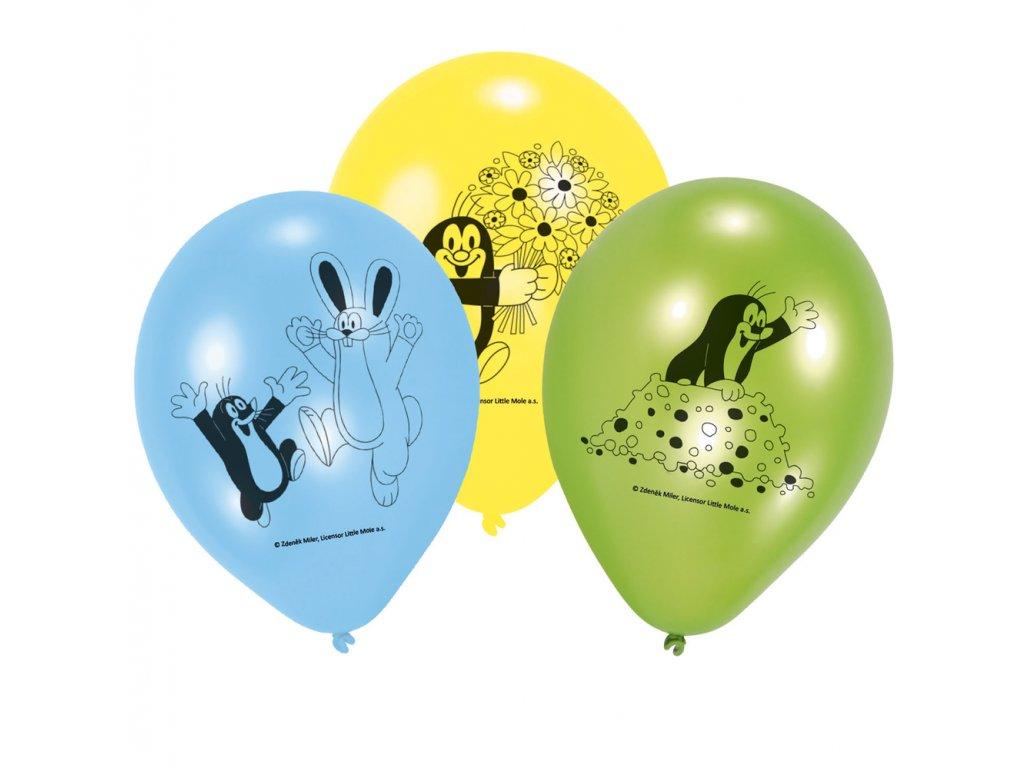 Balónky 6 ks - Krteček