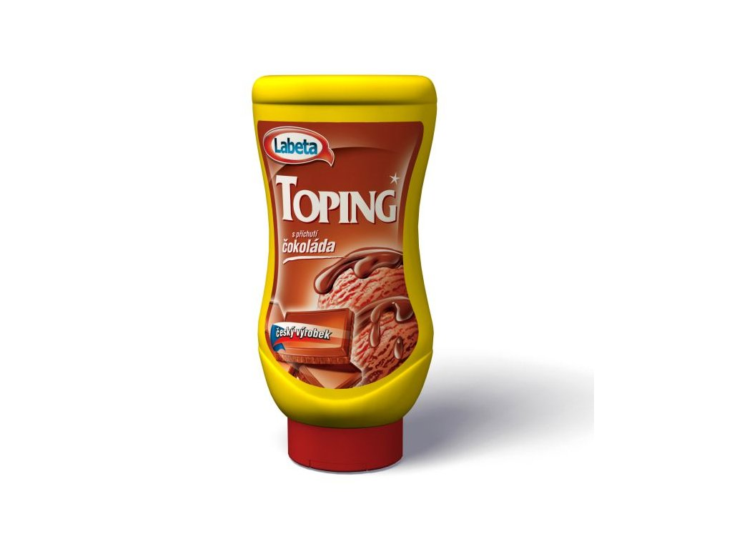 toping čokoláda labeta