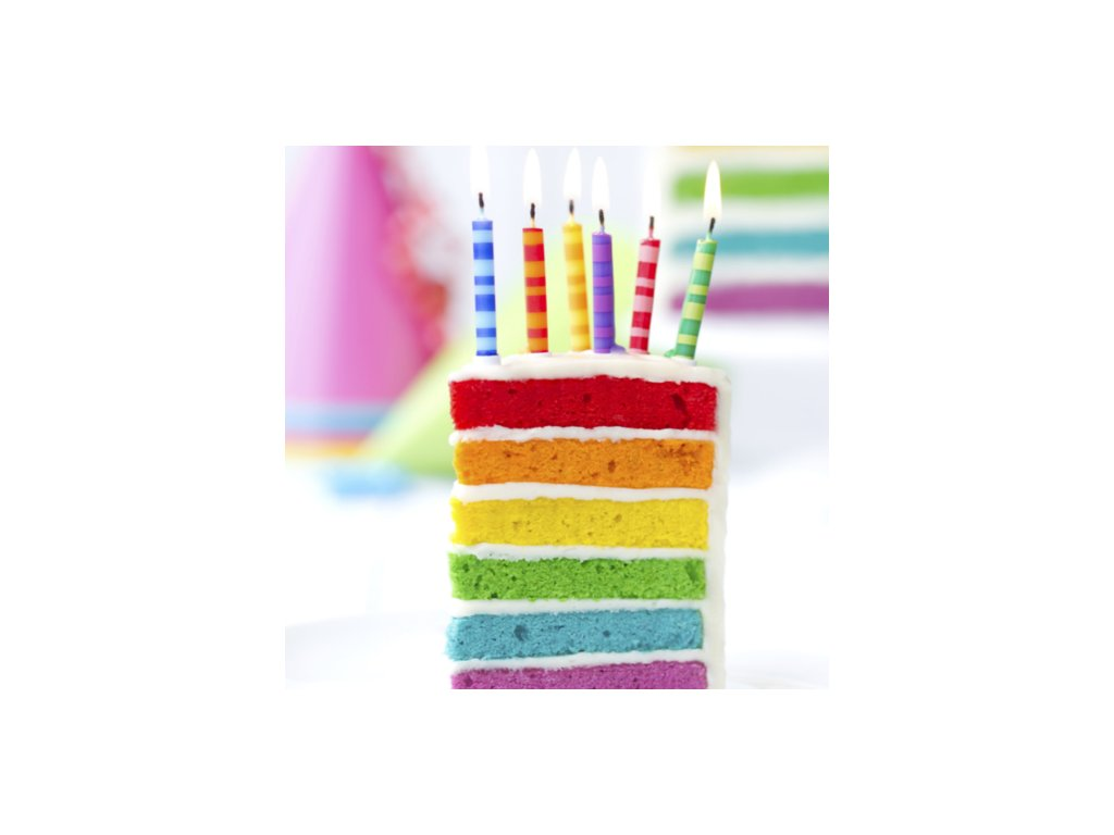 Směs Rainbow Cake 500g - 5 barev