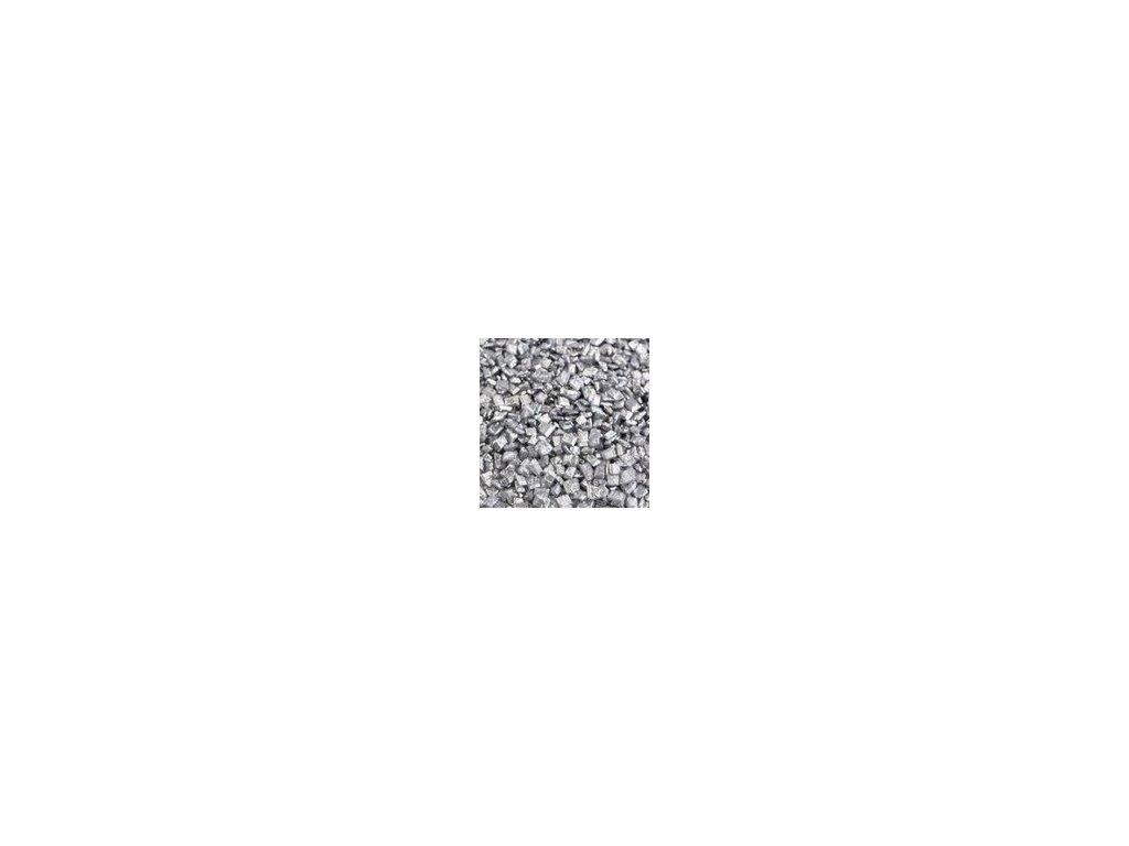 Cukrové krystalky - stříbrné 30g