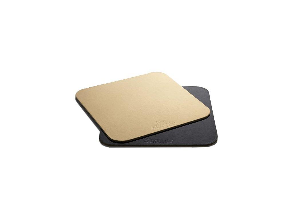 Dortová podložka 1 ks - zlatá - 30x30cm