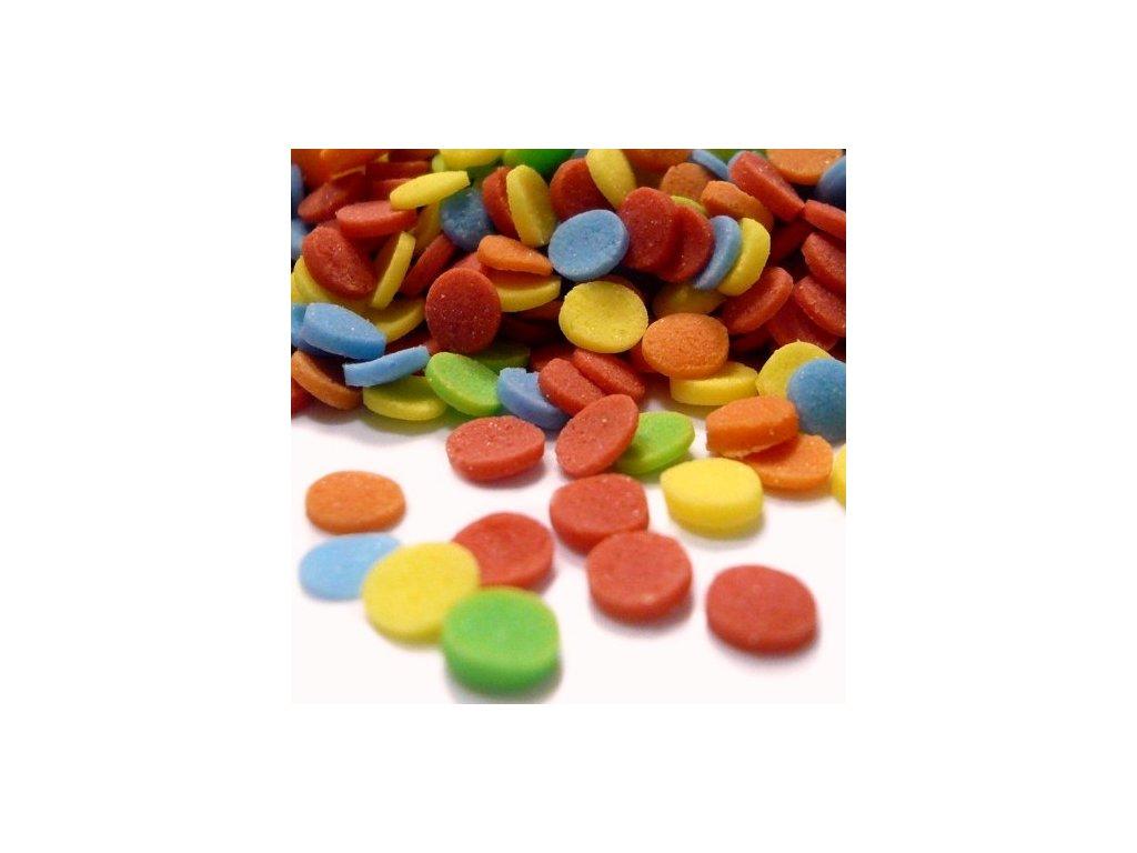 Cukrový posyp konfety - balení 250g