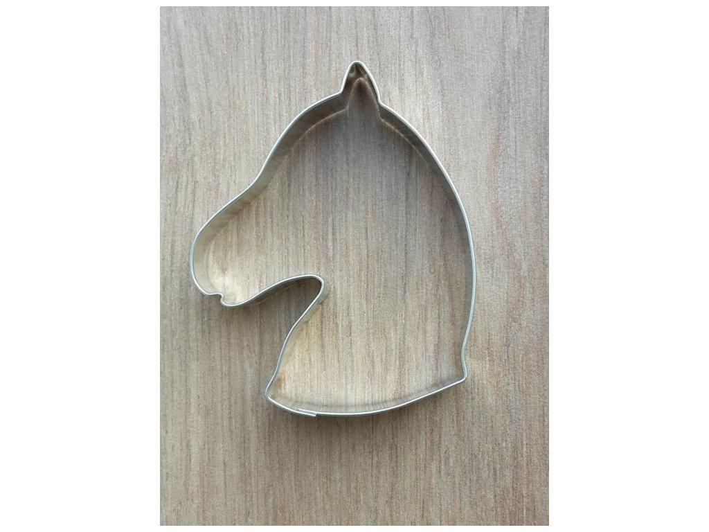 Vykrajovátko kovové - hlava koně (095)