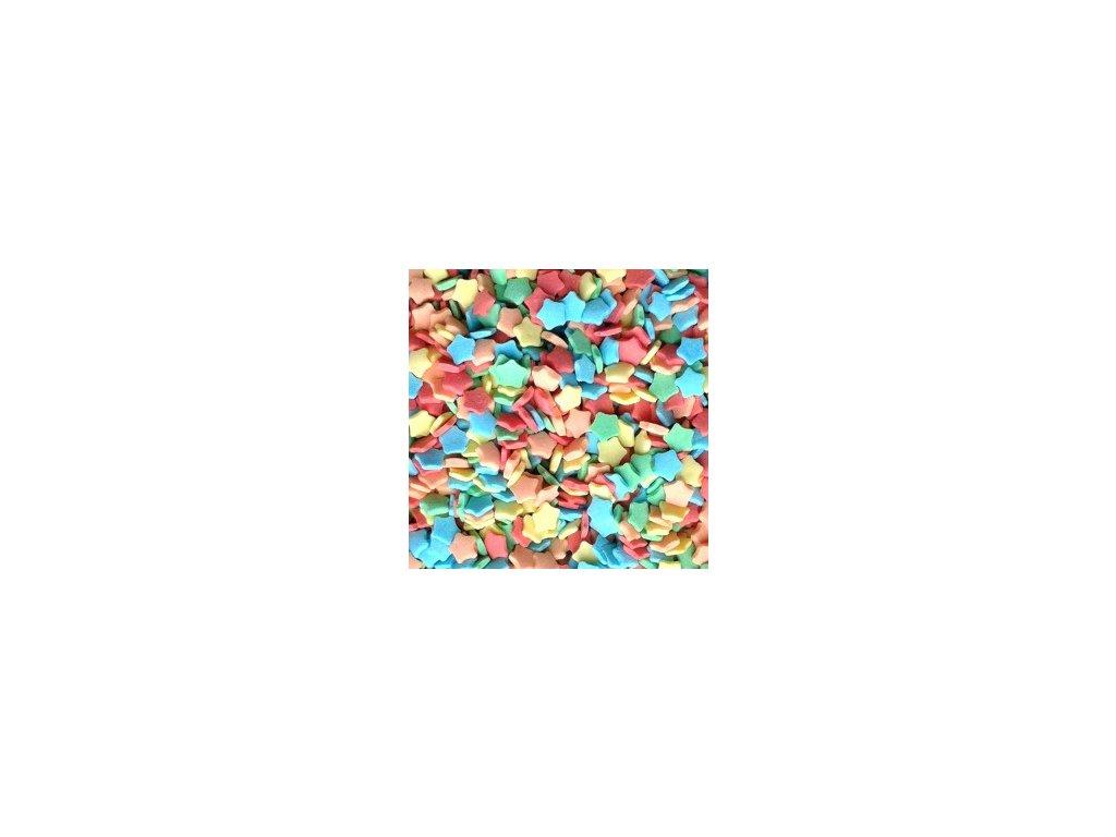 Barevné hvězdičky - 20 g