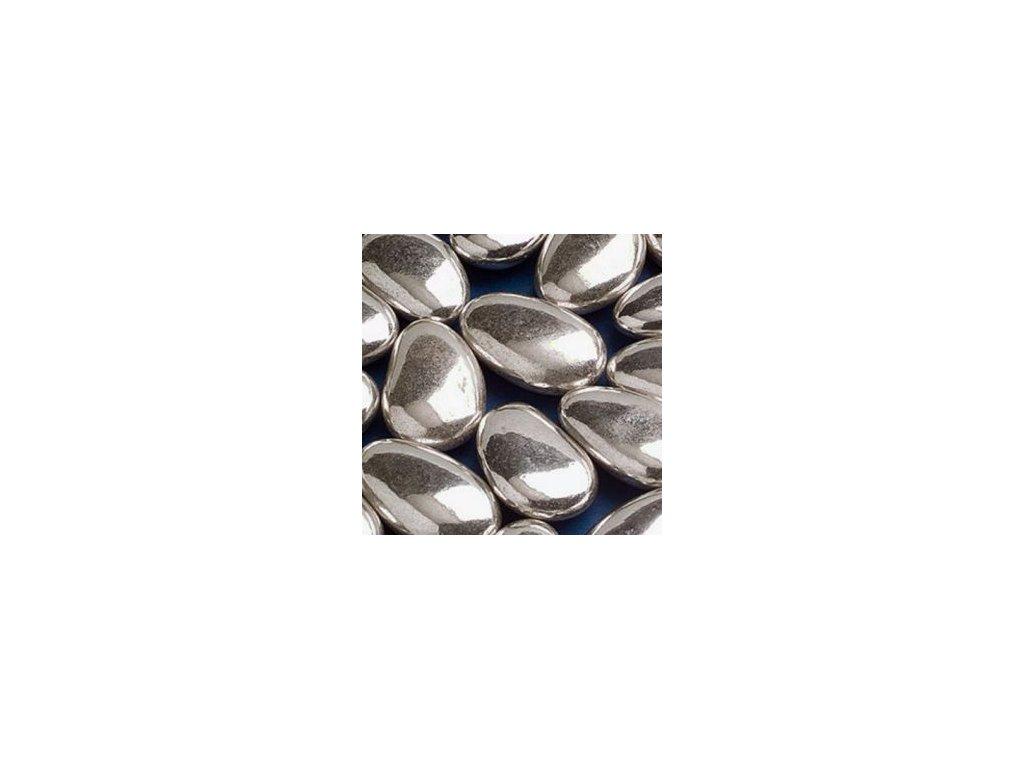 Svatební mandle Stříbrné - 1 kg