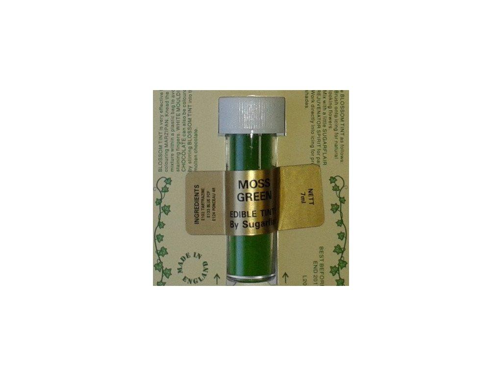 Prachová barva 2g - Zelená Moss Green