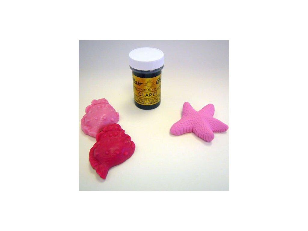 Barva Sugarflair - Claret 25g