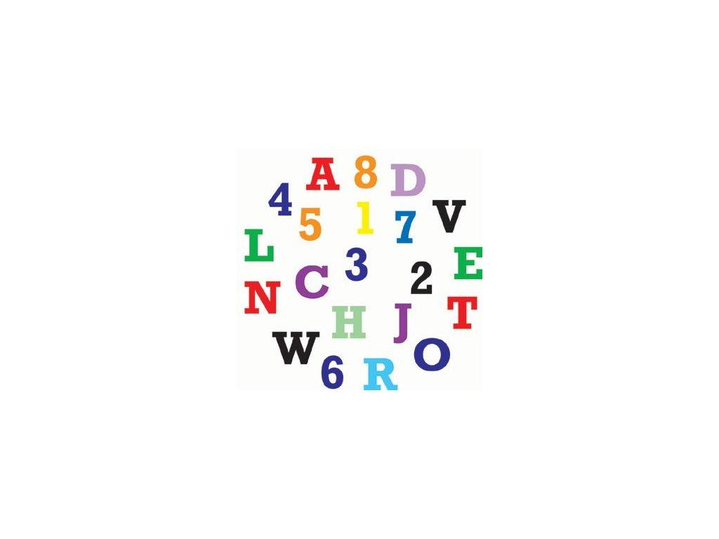 Sada FMM - abeceda a čísla