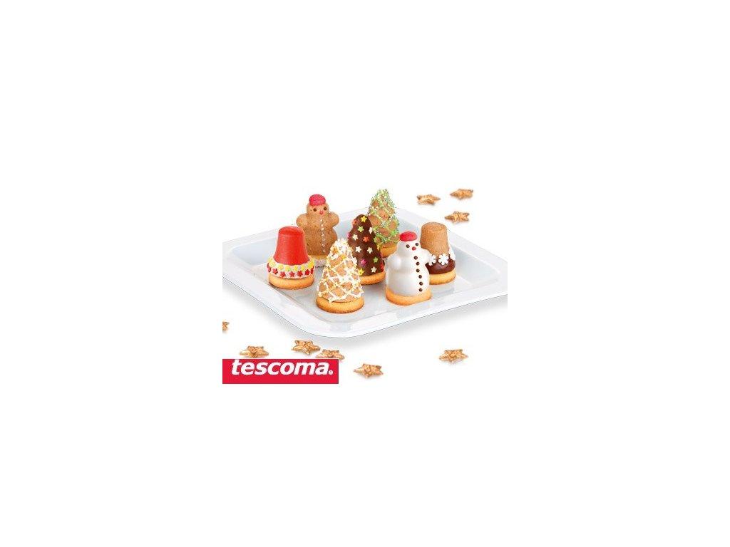 Formičky na plněné cukroví - vánoční tvary