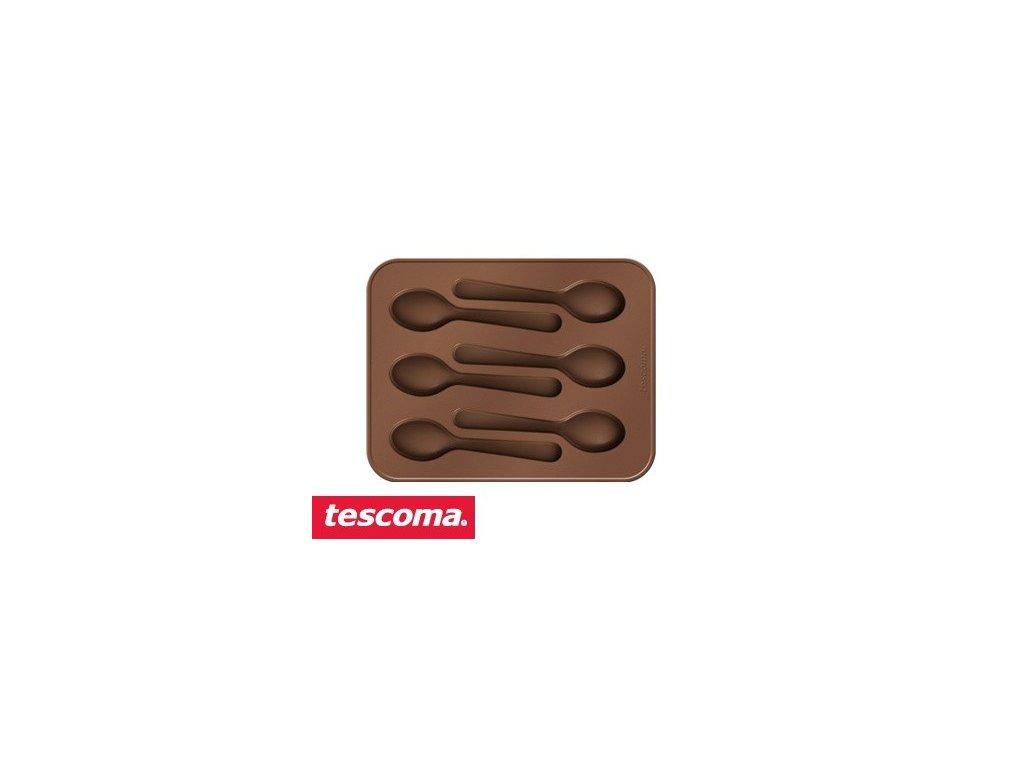 Formičky na čokoládu DELÍCIA - lžičky