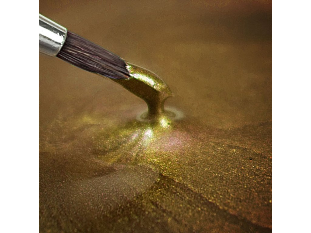 Metallic Food Paint Metallic Light Gold (paint)