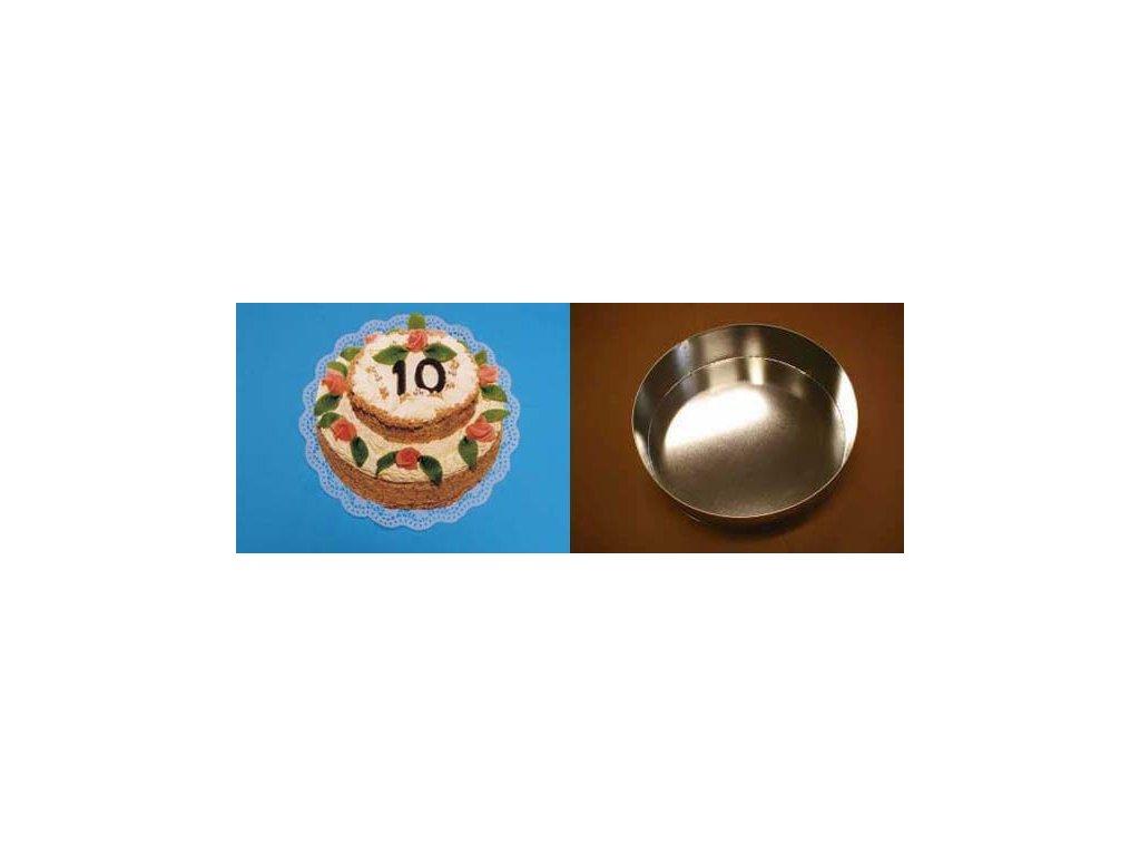 Dortová forma kruh 17 cm - K0205