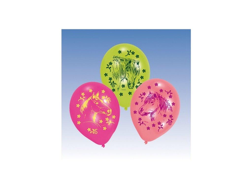 Balónky 6 ks - Koně