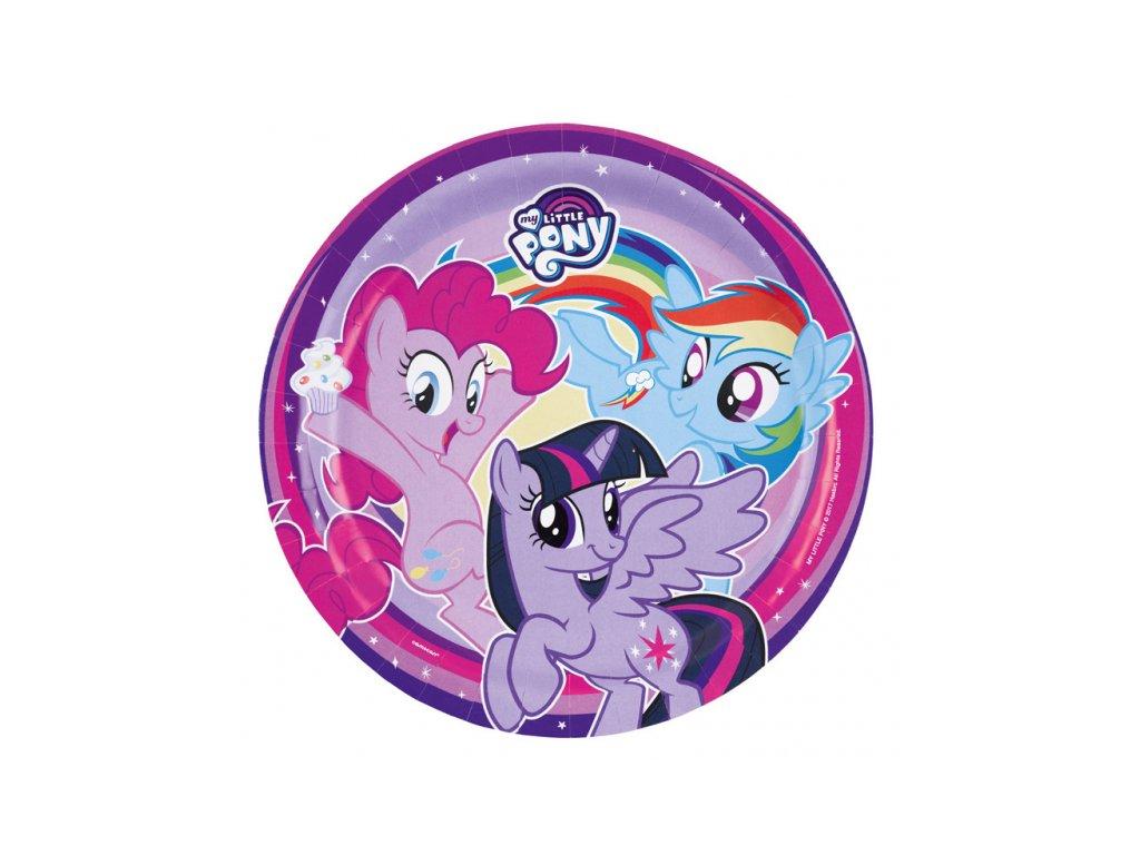 Party talíře 8 ks - My Little Pony