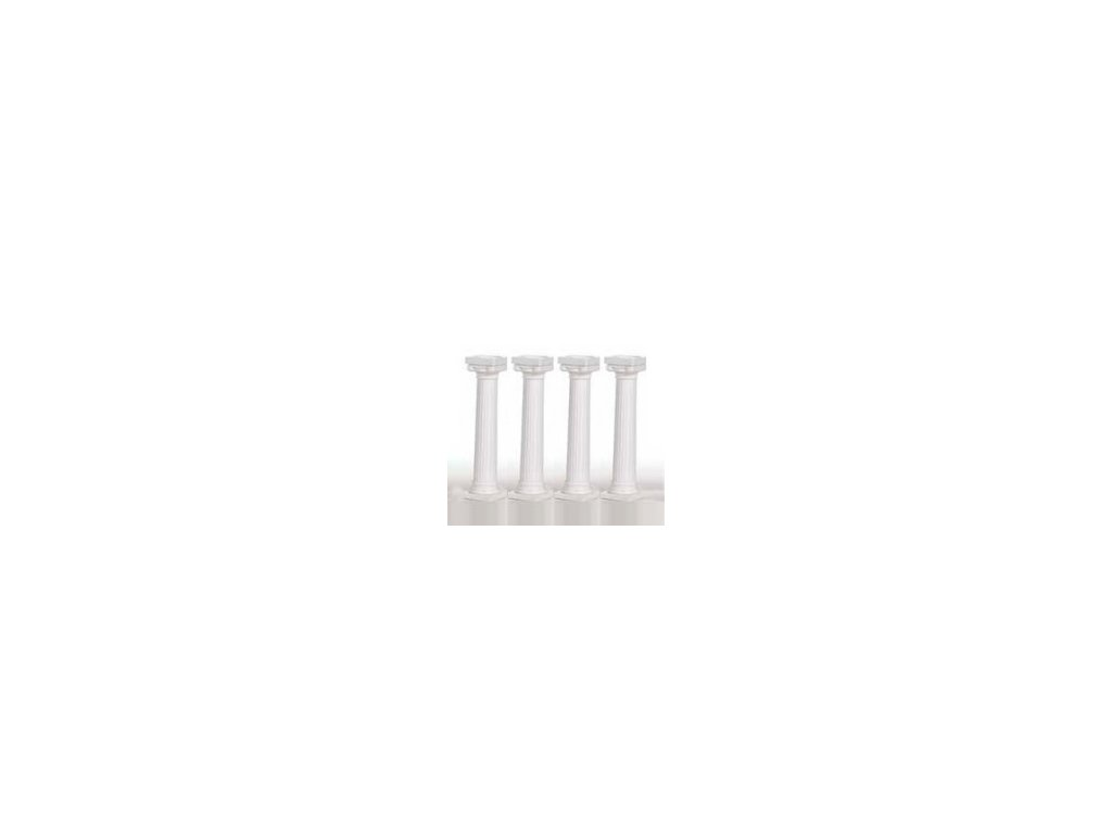 Řecké sloupky 4ks - 18 cm