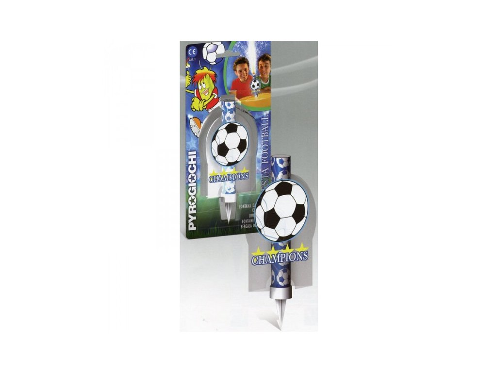 Dortová fontána - fotbal