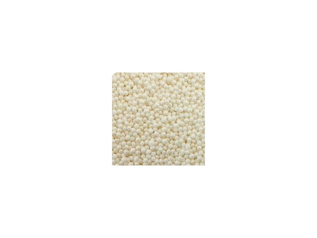 Perleťový máček 30g - bílý