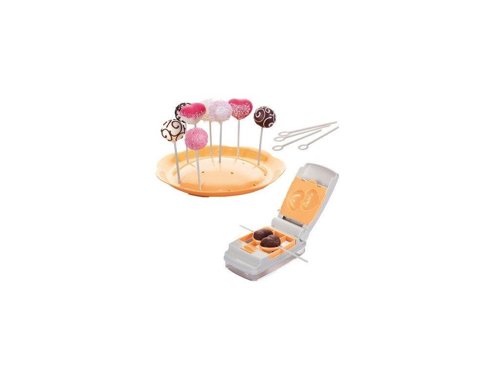 Tvořítka na cake pops DELÍCIA 6 tvarů