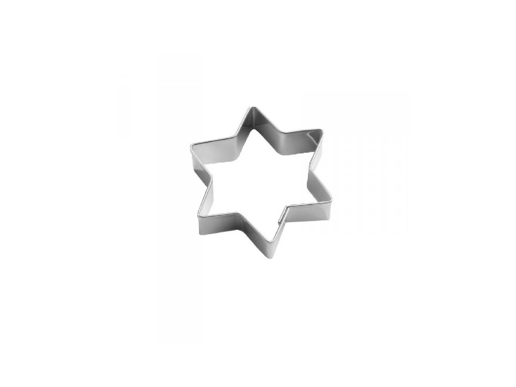 Vykrajovačka nerez OR141 - hvězda