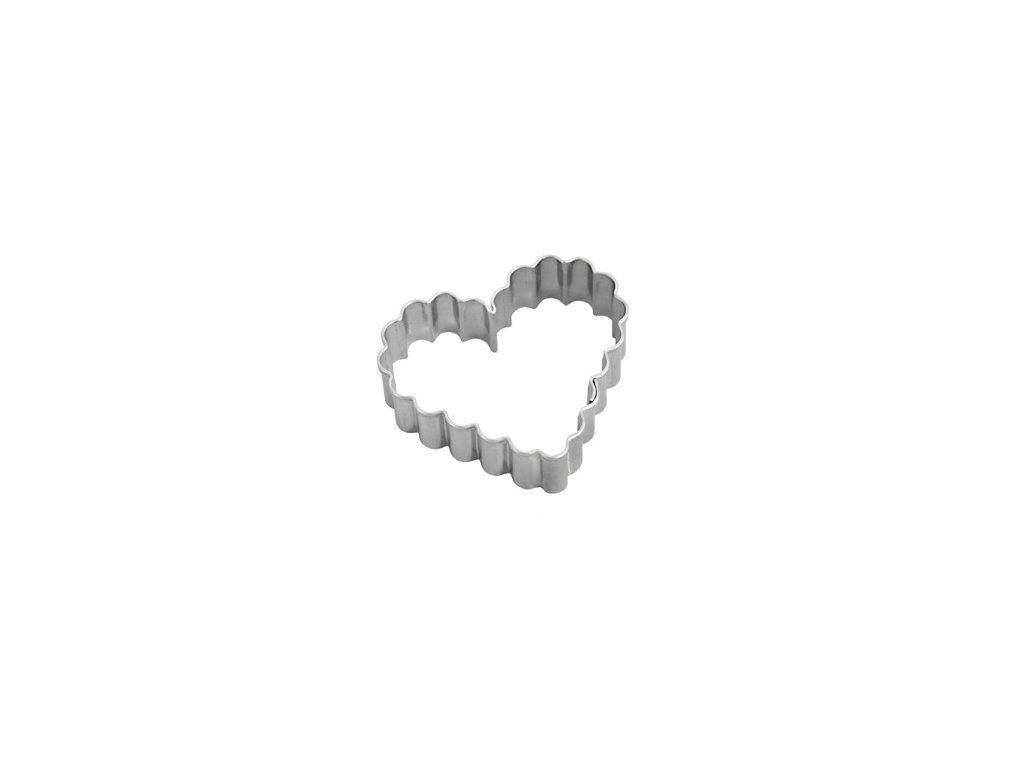 Vykrajovačka nerez OR901 - srdce vlnky
