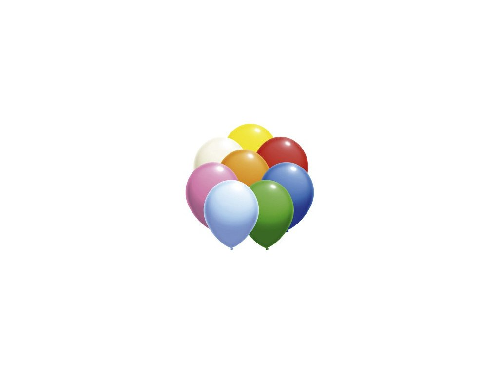 Balónky velké balení 50 ks MIX barev