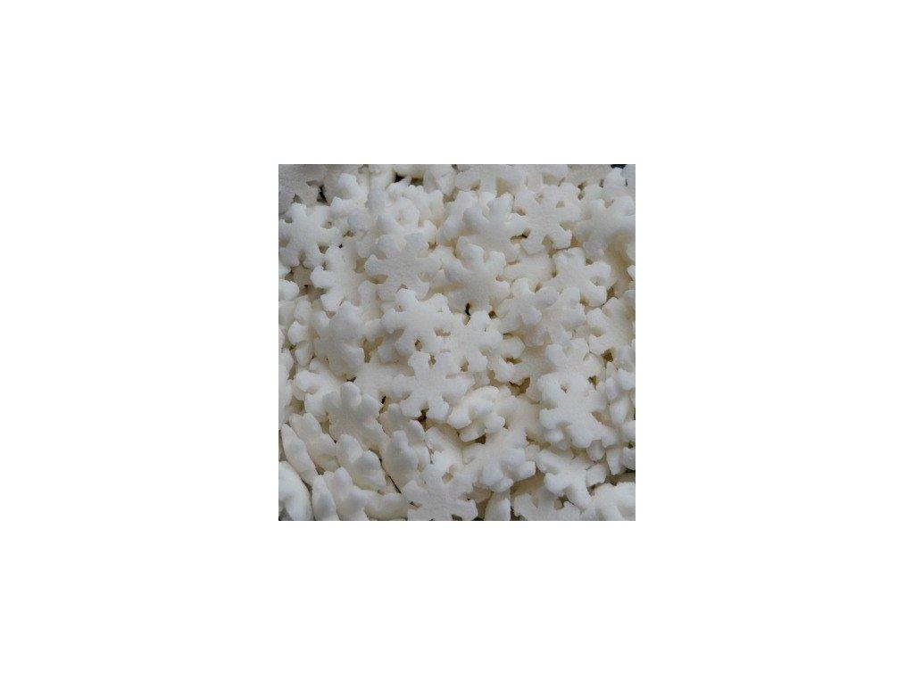 Cukrové zdobení 20g - bílé vločky