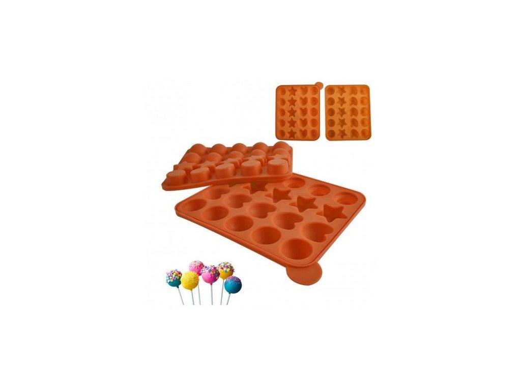 Forma silikon CAKE POPS 20 ks