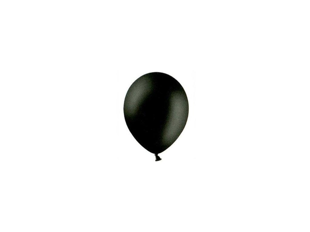 Balónky 5 ks pastelové - černé