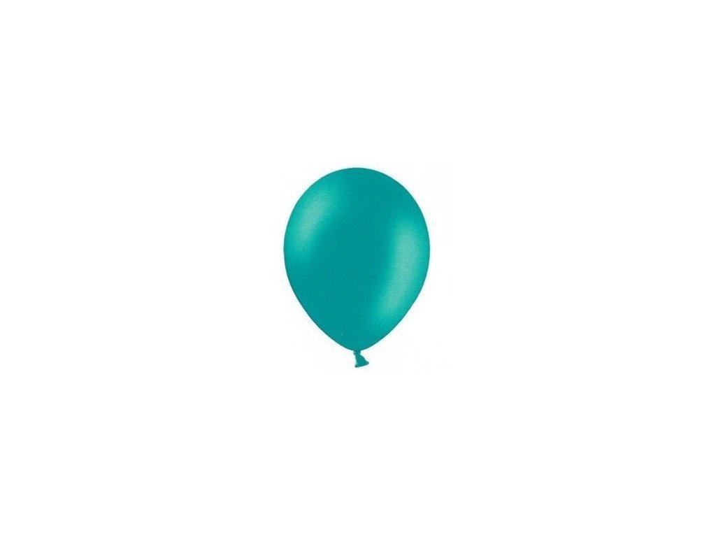 Balonky 5 ks pastelové - tyrkysové