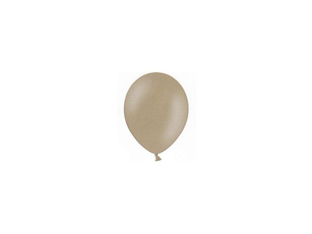 Balónky 5 ks pastelové - béžové
