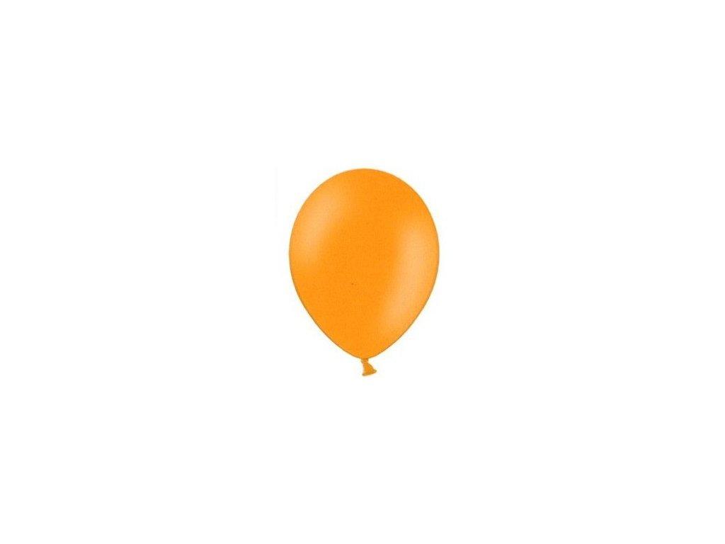 Balónky 5 ks pastelové - oranžové