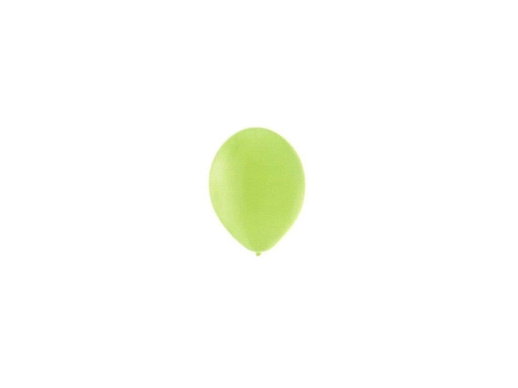 Balónky 5 ks pastelové - světle zelené