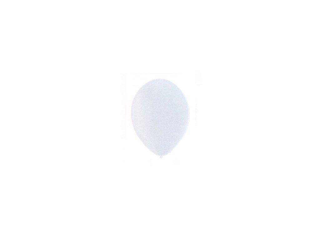 Balónky 5 ks pastelové - bílé
