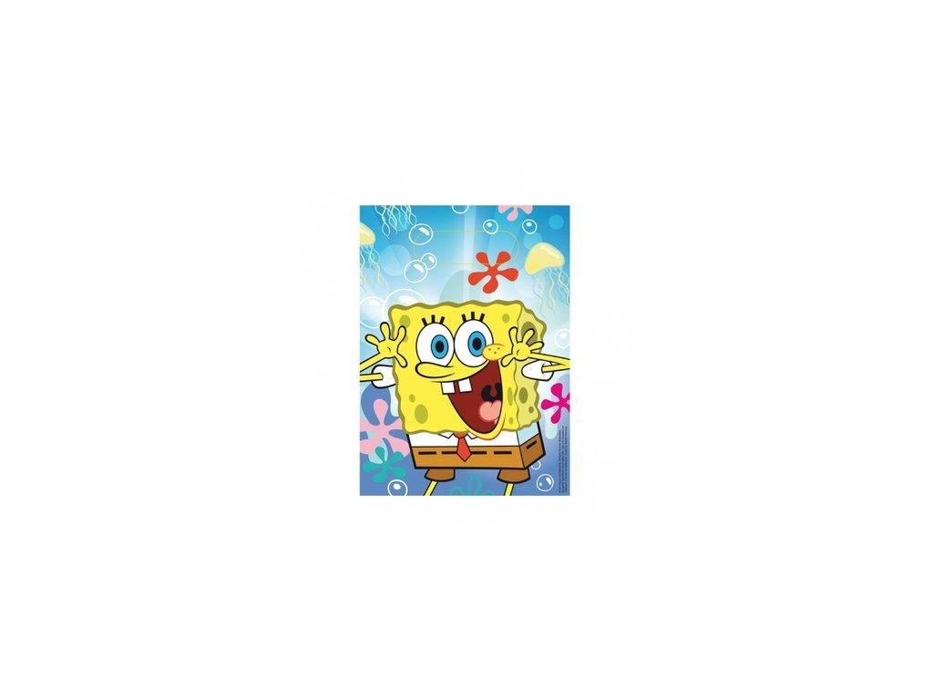 Dárková party taška 6 ks - Spongebob