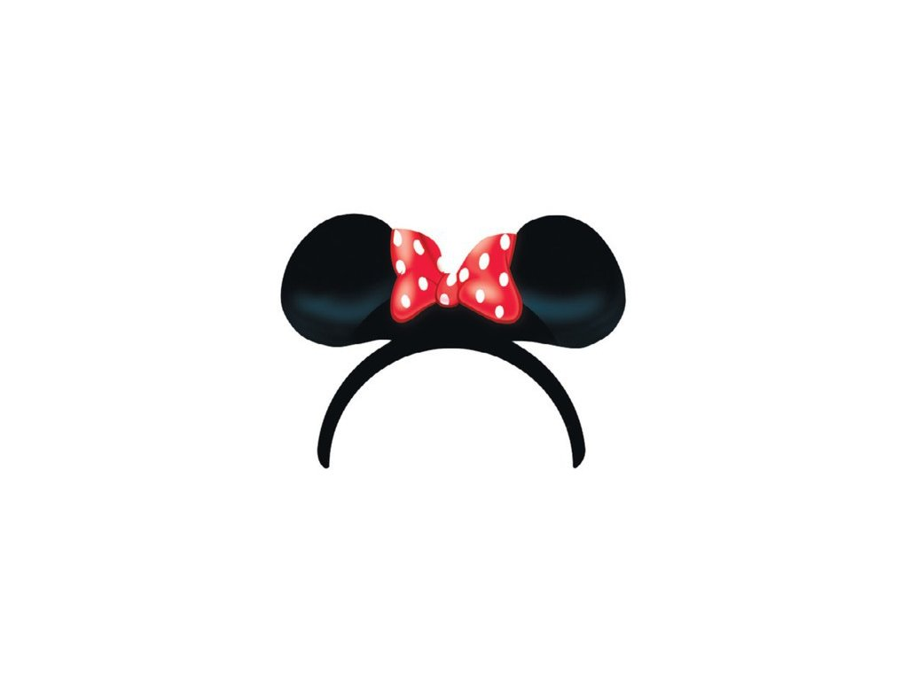 Párty čelenka 4ks - Minnie Mouse