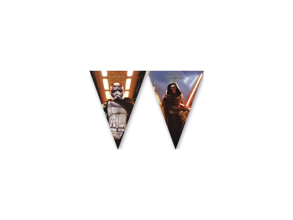 Dekorační vlajky - Star Wars