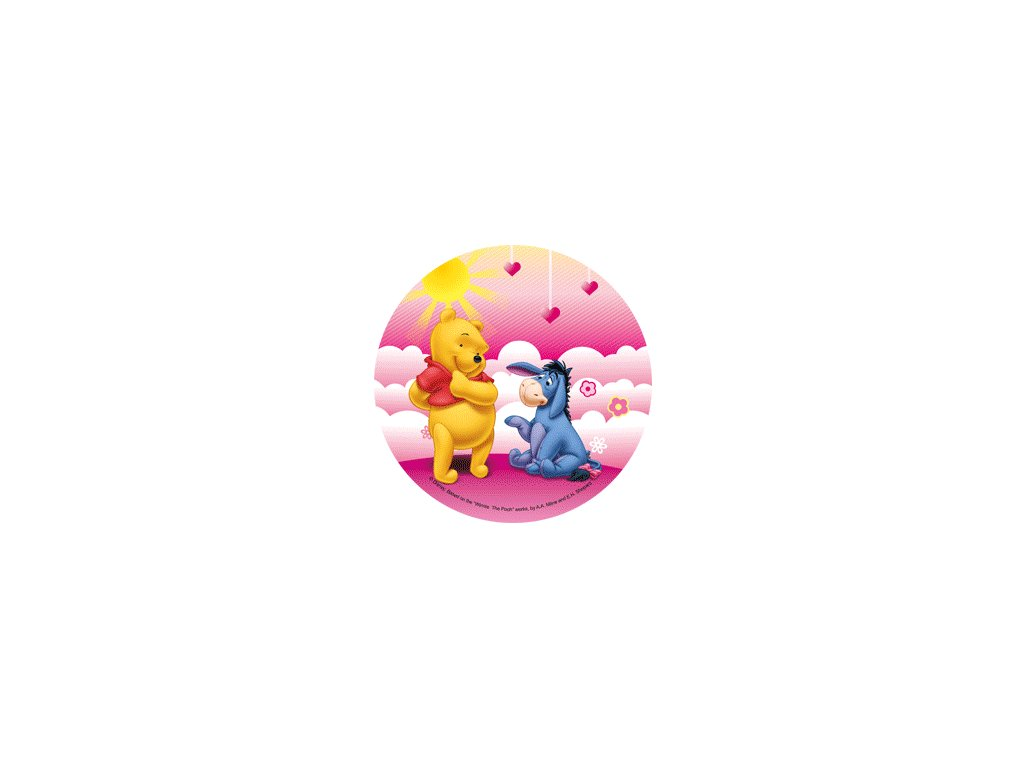 Jedlý papír B - Medvídek Pooh