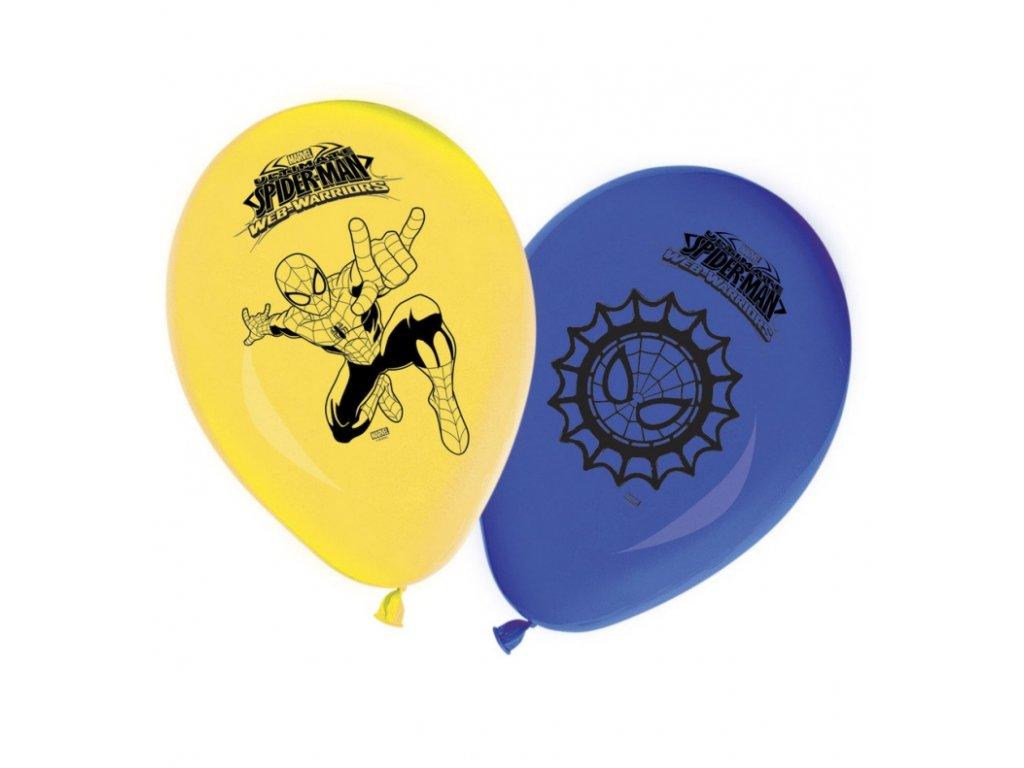 Balónky 8 ks - Spiderman