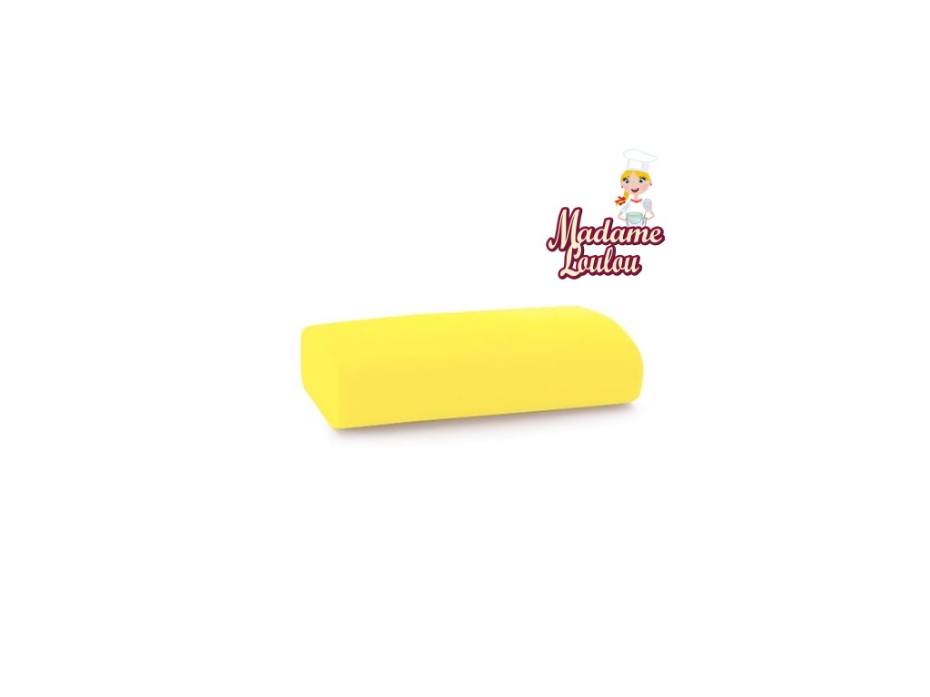 Potahovací hmota Madame Loulou - 250g - Zářivě žlutá