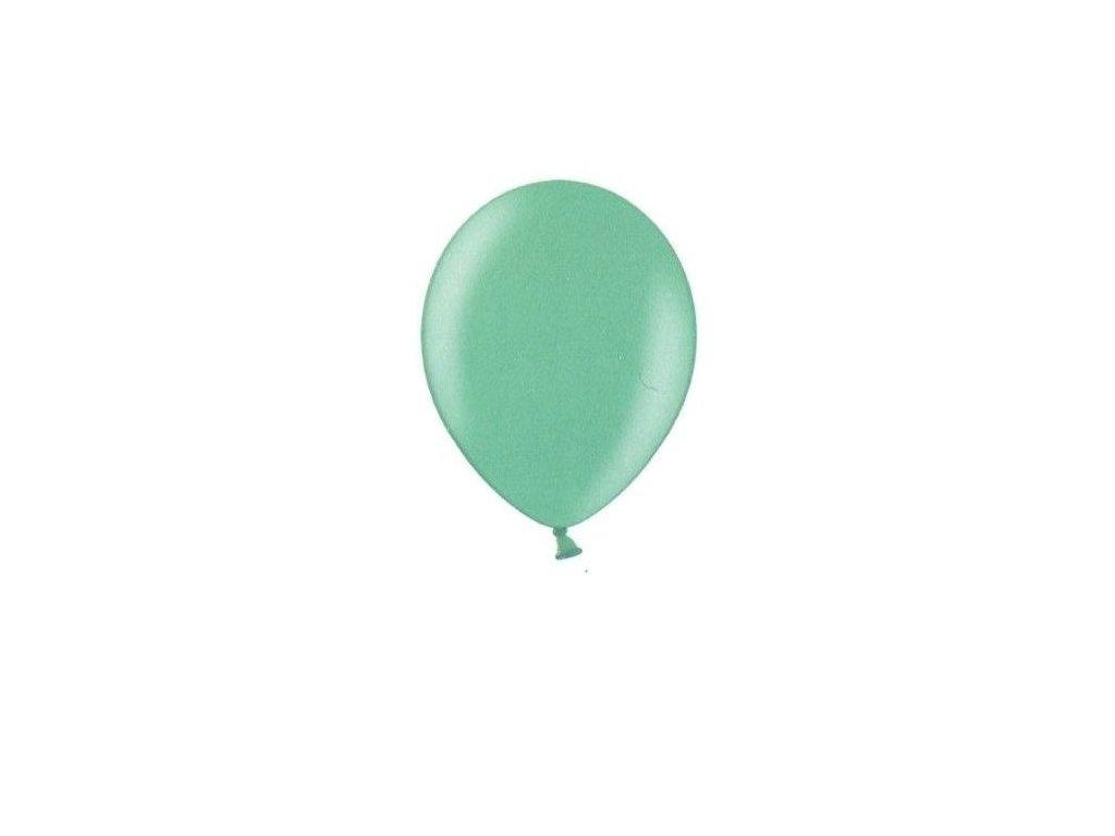 Metalické balonky 5 ks - green