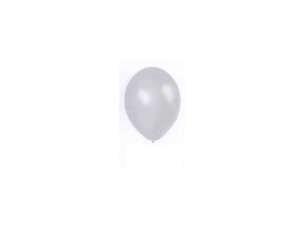 Metalické balonky 5 ks - pearl