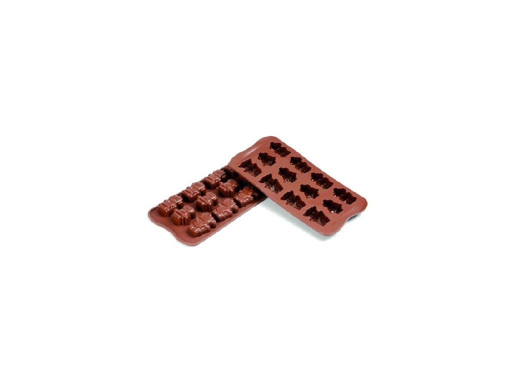 Forma na čokoládu Silikomart - Robochoc