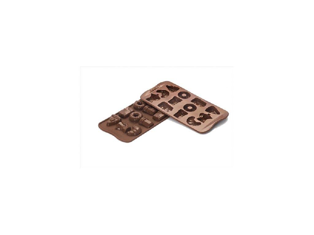 Forma na čokoládu Silikomart - Good Morning