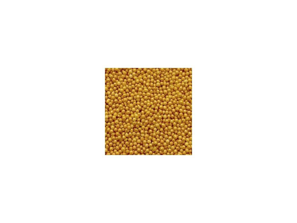 Perleťový máček zlatý - balení 1 kg