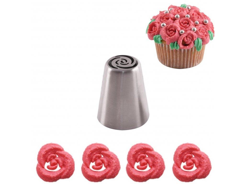 Zdobící ruská špička OR021 - růže
